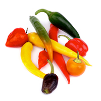 all chile peppers